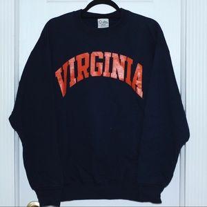 SOLD Vtg University of Virginia UVA Crewneck